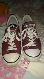 Converse all star trainers, size 6 adult