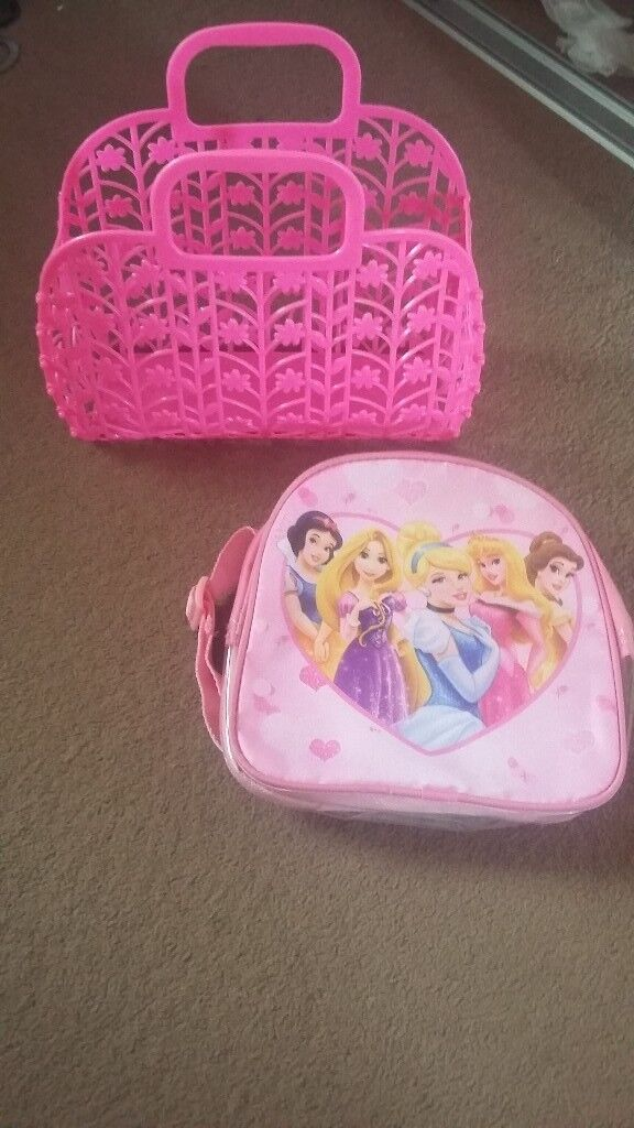 Kids Disney Princesses Mini Rucksack and Jellybag