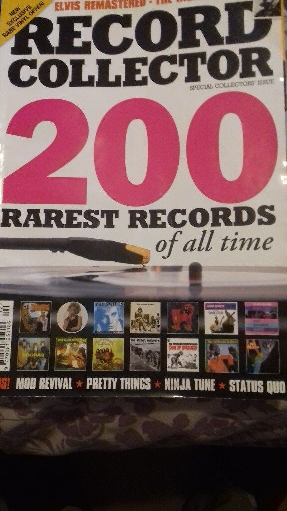 for sale over 250 Record Collector Magazines, some very early ones.