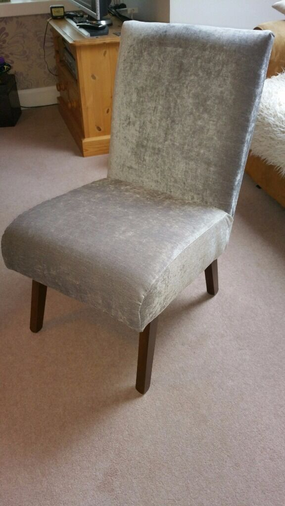 Newly upholstered small chair in denny falkirk gumtree for Small club chairs upholstered