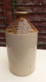 ANTIQUE LINCOLN BREWERY FLAGON