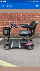 Mobility scooter drive scout 0-4 mph fits in car boot