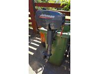Johnson 4hp 2 stroke twin cylinder