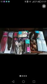 Brand new, hair extensions and hair pieces