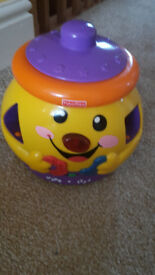 For sale used Fisher-Price Laugh & Learn Cookie Shape Surprise