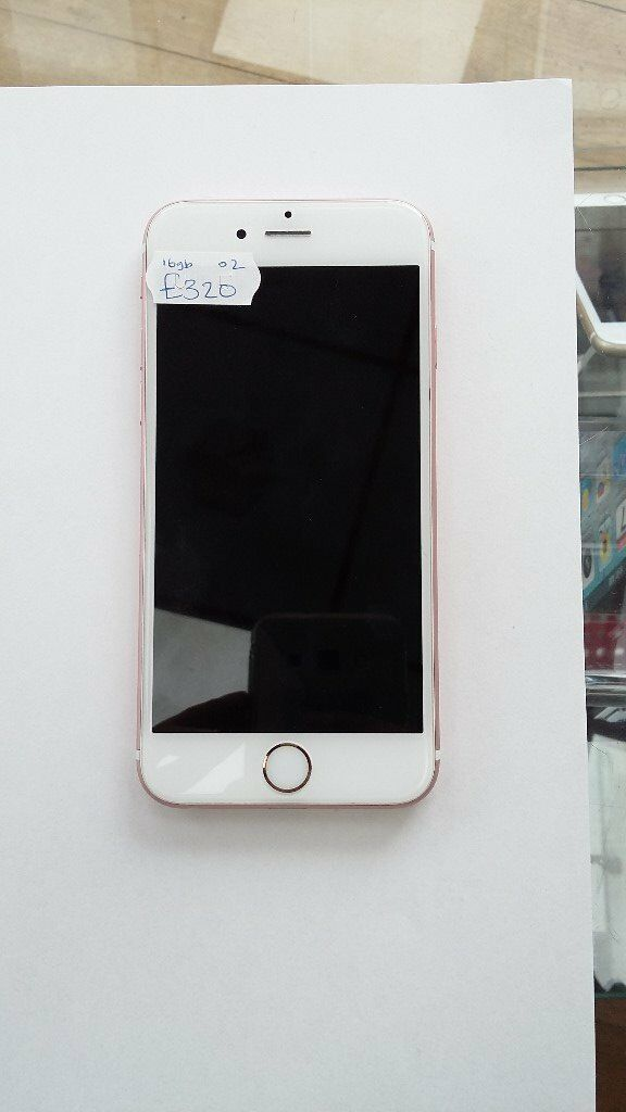 iPhone 6S 16GB Rose Gold O2in Bradford, West YorkshireGumtree - iPhone 6S 16GB Rose Gold O2 Many More Phones, Tablets and Laptops In Stock Receipt Provided With Shop Warranty Open to swaps at trade price 01274 484867 07546236295 Smartphones 37 carlisle road Bd8 8as