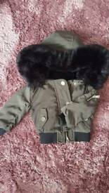 River island, brand new! 0-3 months boys khaki coat