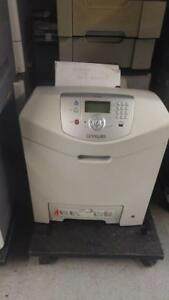 Lexmark C534dn Color Laser printer. Page count : 20k
