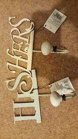 His and Hers hangers