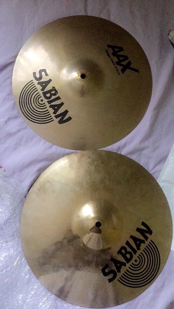 """Sabian AAX 14"""" Stage Hi Hats"""