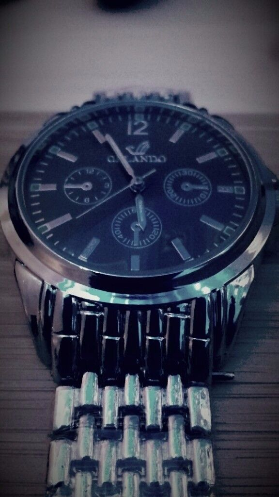 Brand new Orlando Watch with a black face
