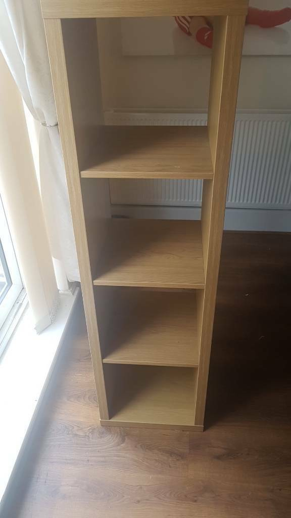 Kallax unit book shelf oak