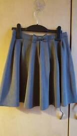 Size 8 - 9 grey school skirts
