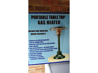 Tabletop Gas Heater