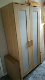 Ikea Double Wardrobe.