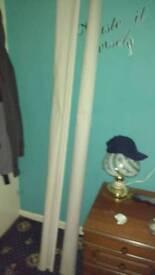 Roller blinds, 6ft x 1