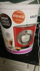 Krups nescafe coffee machine oblo brand new