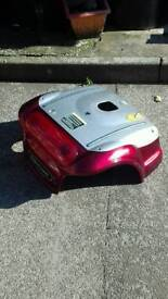 Rear mobility scooter cover,