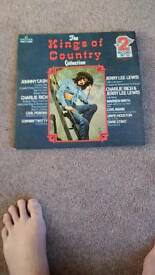The king of country collection 2record set