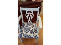 Chair handpainted