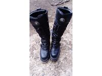 Mens New Rocks Boots Size 10