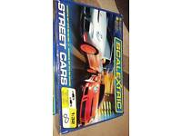 Scalextric complete with extension pack