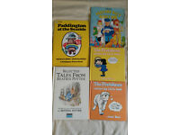 Paddington, Perishers & Portland Bill. 1980's book collection classics.