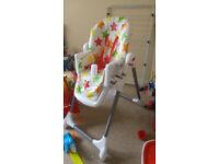 Bright Stars High Chair