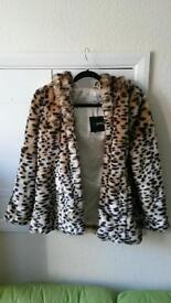 Brand new never been worn asos leaped print jacket