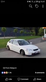 WANTED - WHITE EJ9 ONLY