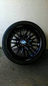 "Genuine BMW 18"" Mv1s Style 72 E36,E46 3 Series Alloy Wheels"