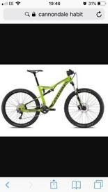Cannondale habit 2017 mountain bike