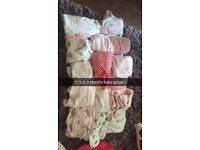 17 0-3month girls baby grows