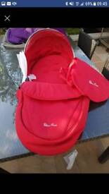 Silver Cross red surf pack. New