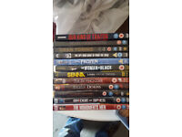 Selection of good quality DVD films