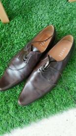 Men's real leather ravel shoes