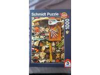 1000 piece Puzzle (Complete!)