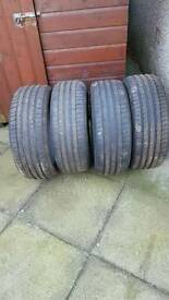 4 Michelin tyres 245-45-20