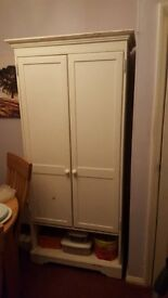 Wardrobe and bedside unit