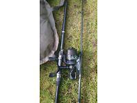 Fishing bag carp mat rod n reel