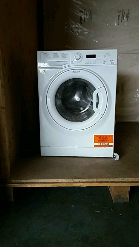 6 months old hotpoint 8kg. CAN DELIVER FOR £20