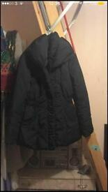 Monsoon feather & down winter jacket size 12