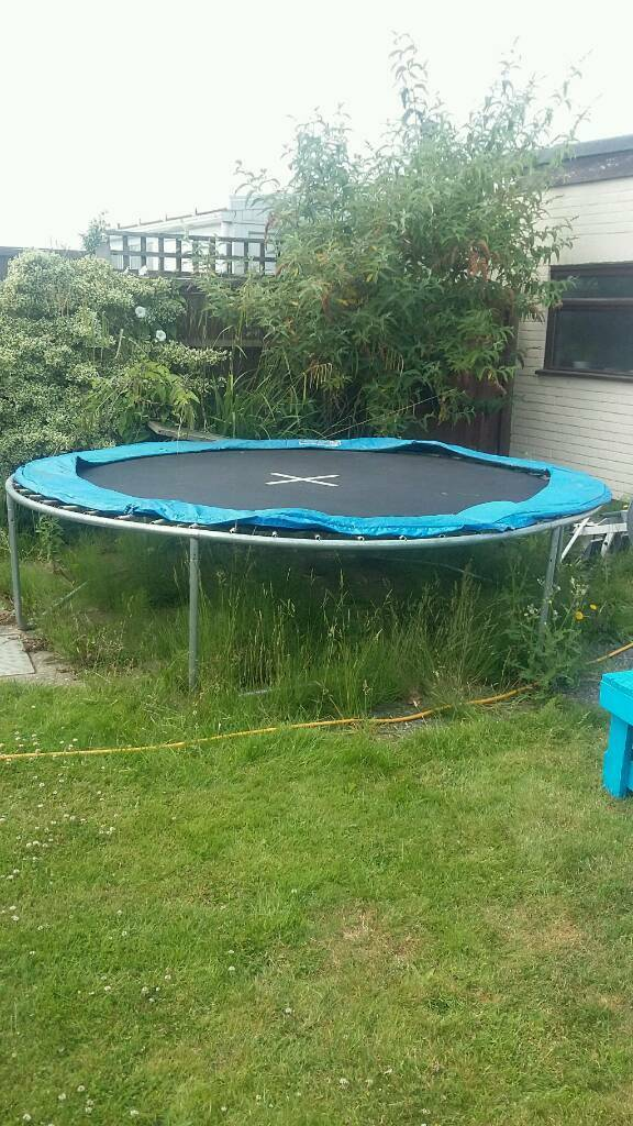 Large trampoline for sale