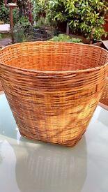 Large Split Cane/Wicker Basket