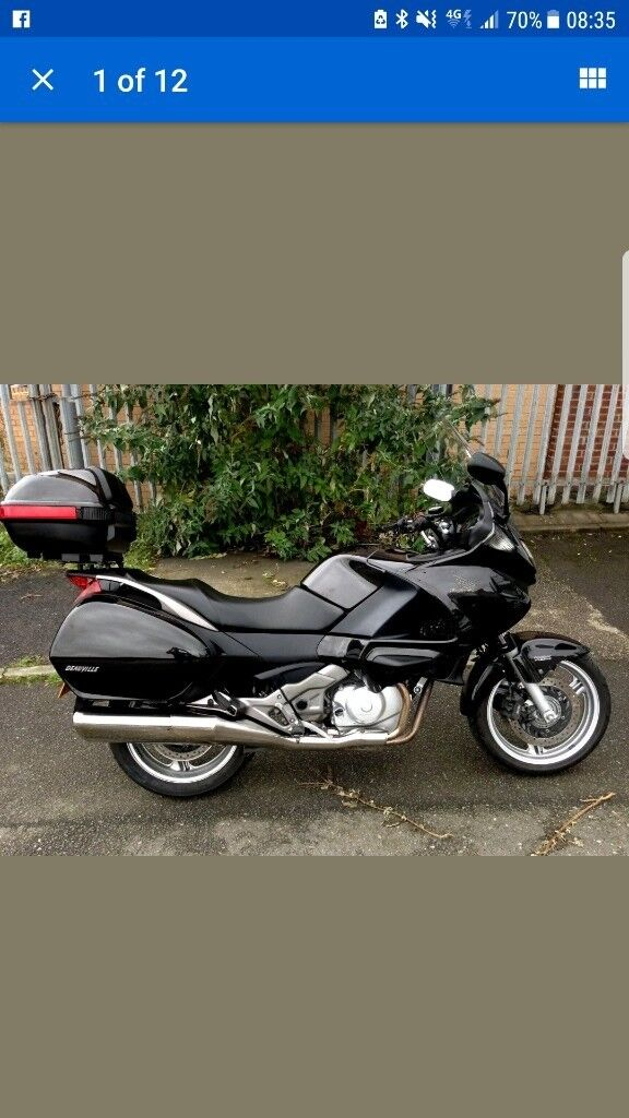very cheap Honda deauville tourer just done above 15500 miles
