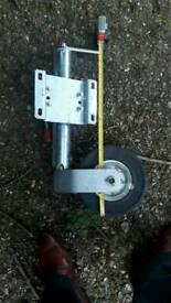 Alko heavy duty jockey wheel