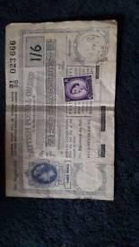 Old fashioned postal order