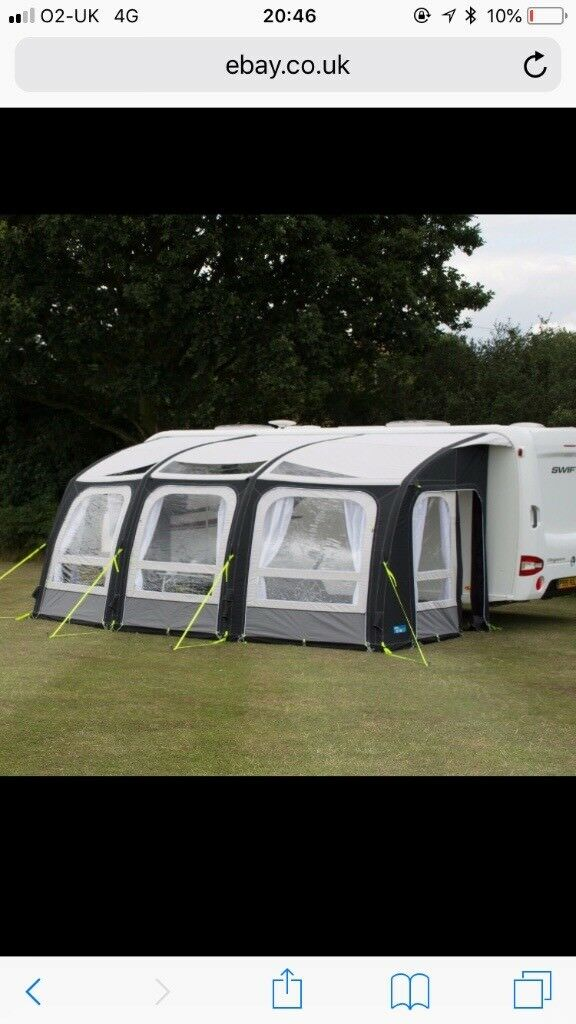 2017 kampa Air Ace Pro 500 caravan awning | in ...