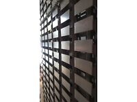 Dexion slat wall panels to accommodate plastic storage bins for small/med size components/parts/accs