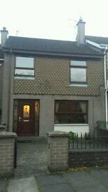 Mid Terrace House to Let in Claudy Village